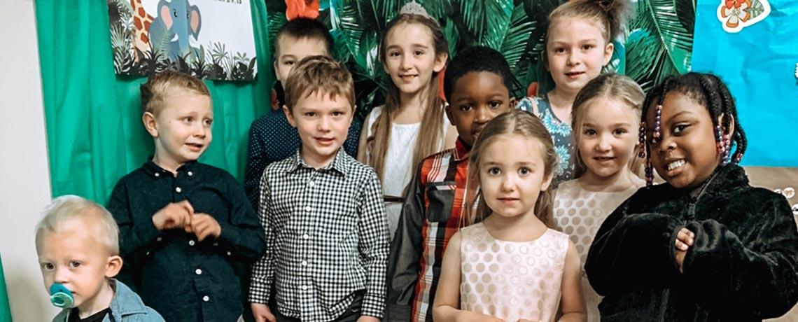 Sunday School – ages 1-11
